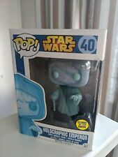 Pop! Vinyl - Star Wars - Holographic Emperor Palpatine (Glow in the Dark GITD)