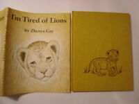 I'm Tired of Lions, Zhenya Gay, Guild DJ, 1st Edition Book, 1961