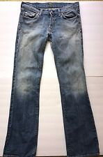 7 For All Mankind Womens Jeans Original Boot Cut Medium New York #u075505u Sz 28