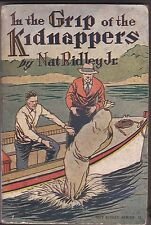 RIDLEY-NAT RIDLEY-IN THE GRIP OF THE KIDNAPPERS ORIGINAL PAPER/PULP