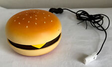 Original 2007 JUNO Novelty Yellow Hamburger Corded Telephone -tested Working Vgc
