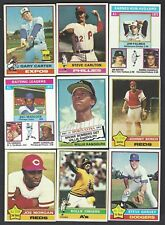 1976 Topps Baseball Lot Finish Your Set Pick 35 Cards EX-MT To NM More Added
