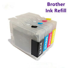 1set Refillable Brother Ink Cartridges LC40 LC71 LC73 LC75 LC400 LC1220 LC1240