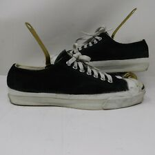 Vintage Jack Purcell Mens 7 Converse MADE IN USA Dark Green Suede