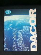 Vintage Dacor Diving 1991 catalog. Excellent condition.