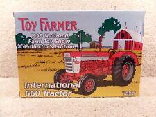 1999 Toy Farmer 1/16 Diecast International 660 Tractor National Farm Toy Show