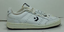 Converse Shoes Jimmy Connors Tennis 5.5 White Navy 1983 Vintage Sneakers Boys B2