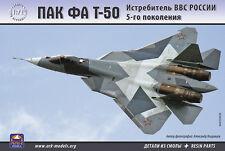 ARK MODELS 72036 PAK FA T-50 RUSSIAN 5-GENERATION FIGHTER RESIN PARTS 1/72 NEW