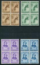 Cats European Stamp Blocks
