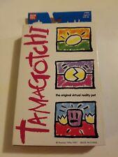 New Bandai Original TamaGotchi  White & Silver 1996 - 1997 English #1800