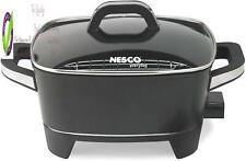 Nesco Es-12, Extra Deep Electric Let, Black, 12 Inch, 1500 Watts