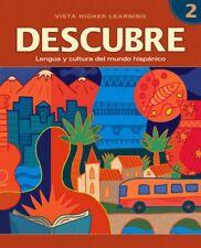DESCUBRE, nivel 2 - Lengua y cultura del mundo his