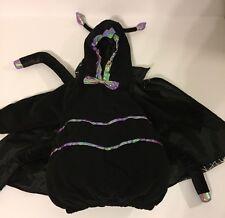 Miniwear Spider Halloween Costume Size 24 Months Girls Sparkly Legs Web Plush