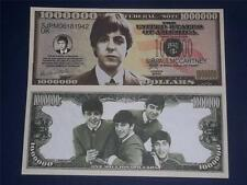 UNCIRCULATED NOVELTY NOTE OF PAUL MCCARTNEY (BEATLES) FREE NOTE OFFER!