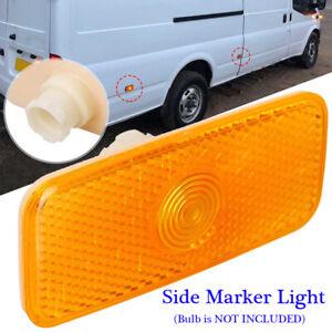 Car Side Marker Light Lamp Lens Fit For Ford Transit MK7 2006-2014,MK6 2000-2006
