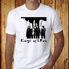New Kings Of Leon Rock Band Men's White T-Shirt Size S to 3Xl - Free Shipping