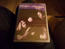 STEVE BAILEY & VICTOR WOOTEN - BASS EXTREMES LIVE DVD BRAND NEW SEALED