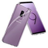 Samsung Galaxy S9 Plus Protection Hülle Silikon Case Transparent Durchsichtig