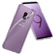 Samsung Galaxy S9 Plus Protection Hülle Silikon Case Transparent Durchsichtig