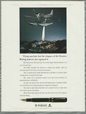 1990 Parker Pen advertisement for Duofold pen, Supermarine S.6B sea-plane trophy