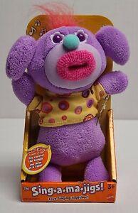 Mattel Sing A Ma Jigs Purple Vintage NIB Needs Batteries
