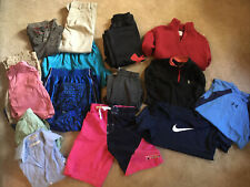 Lot Of Boys Clothes Size 10/12 (M) UA,Nike, Crew Cuts And More 16 Pcs