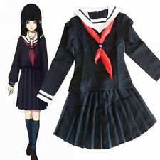 Hell Girl Enma Ai Girl School Uniforms Cosplay Costume size S