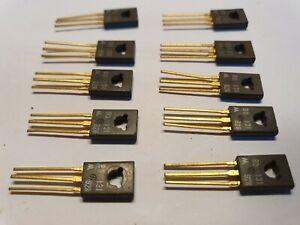 Qty 10 X BD131 NPN Transistors Motorola. New.  FREE UK POSTAGE