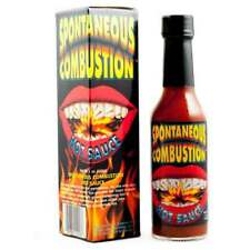 Spontaneous Combustion - Extreme Hot Chilli Sauce *New & Boxed***