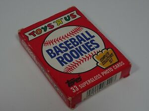 1988 Topps Toys R Us Baseball Rookies Pack of Baseball Trading Cards