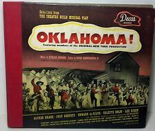 "1943 Decca records ""OKLAHOMA"" original N.Y. Production Rodgers & Hammerstein"