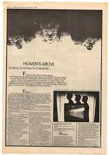 BEF British Electric Foundation Interview NME Cutting 1981