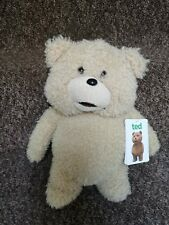 Talking Ted Large Soft Toy Tagged