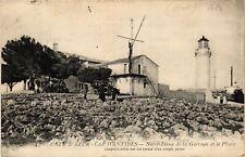 CPA  Antibes - Cap d'Antibes - Notre-Dame de la Garoupe et le Phare  (639580)