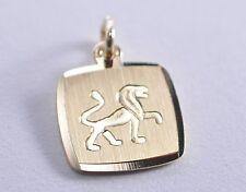 333 Gold - Gelbgold - Sternzeichen - Anhänger - Löwe - Sternzeichenanhänger TOP