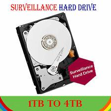 Surveillance CCTV Hard Drive Internal HDD DVR NVR DISK  HDD 1TB, 2TB, 3TB, 4TB