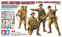 Tamiya 32409 - 1/35 Wwi British Infantry With Small Arms & Equipment - Neu
