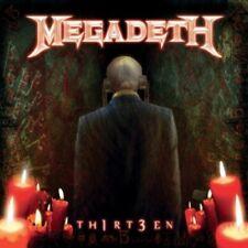 Th1rt3en by Megadeth (Vinyl, Dec-2012, 2 Discs, Roadrunner Records)***NEW***