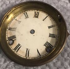 SMALL ANTIQUE MANTLE CLOCK DIAL