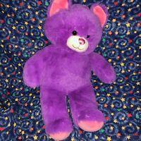 "BABW / Build a Bear Workshop 2017 LIL' PLUM KITTY Purple Cat 16"" Plush Toy"