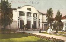 München, Künstlertheater, alte Ansichtskarte von 1910