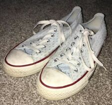 Converse Allstar Blue Lace Up Shoes Mens Size 9