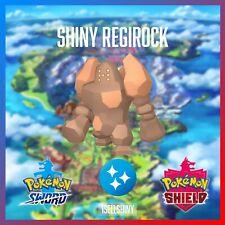 SHINY REGIROCK | BRAND NEW DLC CROWN TUNDRA POKEMON SWORD & SHIELD