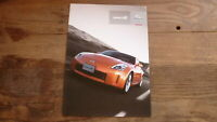 AUSTRALIAN CAR SALES ADVERTISNG BROCHURE, NISSAN 350Z MODEL, 2007