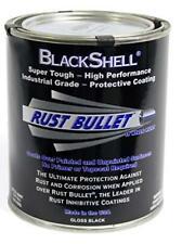 High Quality  Rust Bullet Blackshell - Black Rust Paint Rust Treatment Quart