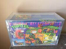 Vintage Playmates 1989 Teenage Mutant Ninja Turtles Party Wagon AFA 75 -TMNT-