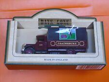 Lledo No 28032 - Model Of A 1934 Mack Canvas Back Truck - J. SAINSBURY'S LAMB