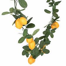 Artificial Lemon Garland - Home Decor - 1 Piece