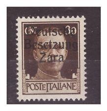 ZARA  1943  - 30  CENTESIMI -  SECONDO TIPO   NUOVO **