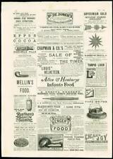 1888-Publicidad Hammond máquina de escribir beethams Glicerina Pepino Perry (217)